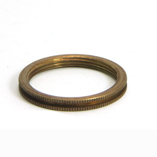 Solid Antique Brass Shade Rings BC Pack of 1